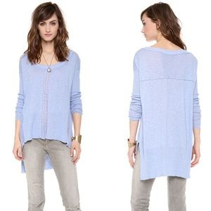 NWT Free People Lace Road Boxy Long Sleeve